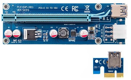 رایزر کارت گرافیک مدل 009S Blue