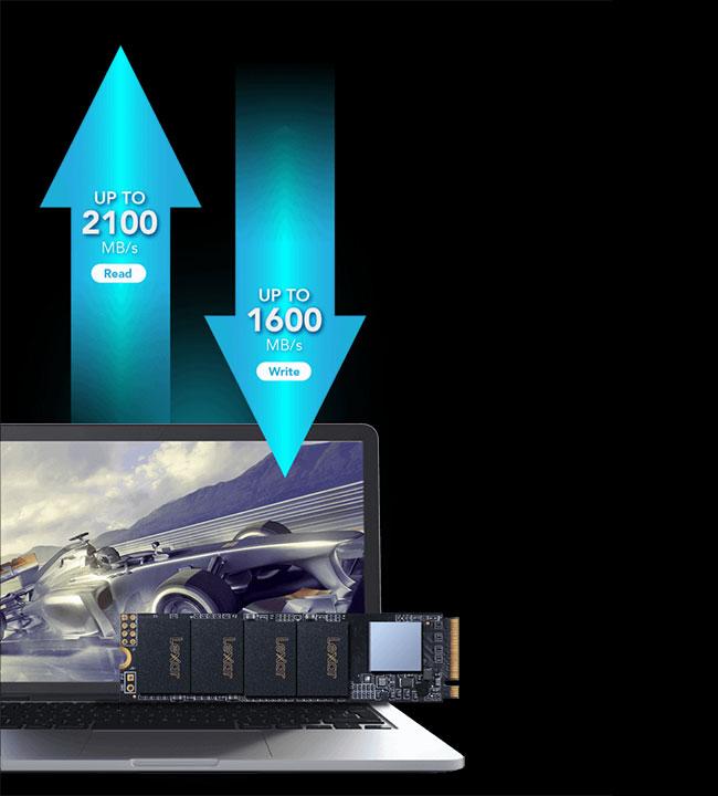 هارد پرسرعت لگسار Lexar M2-NM610 250GB