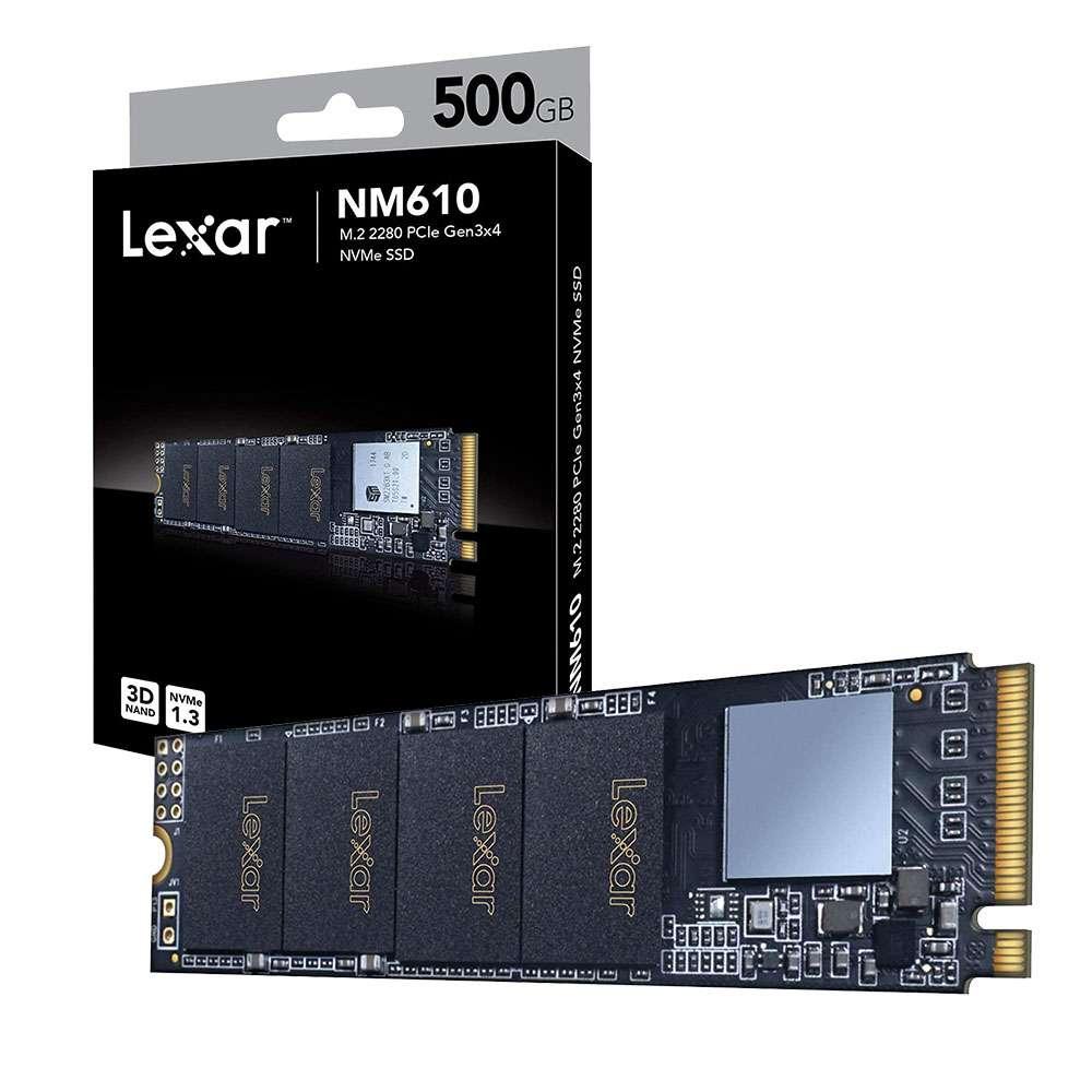 هارد پرسرعت لگسار Lexar M2-NM610 500GB