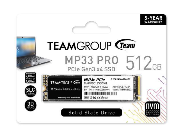 هارد پرسرعت تیم-گروپ Team-Group M2-MP33 512GB