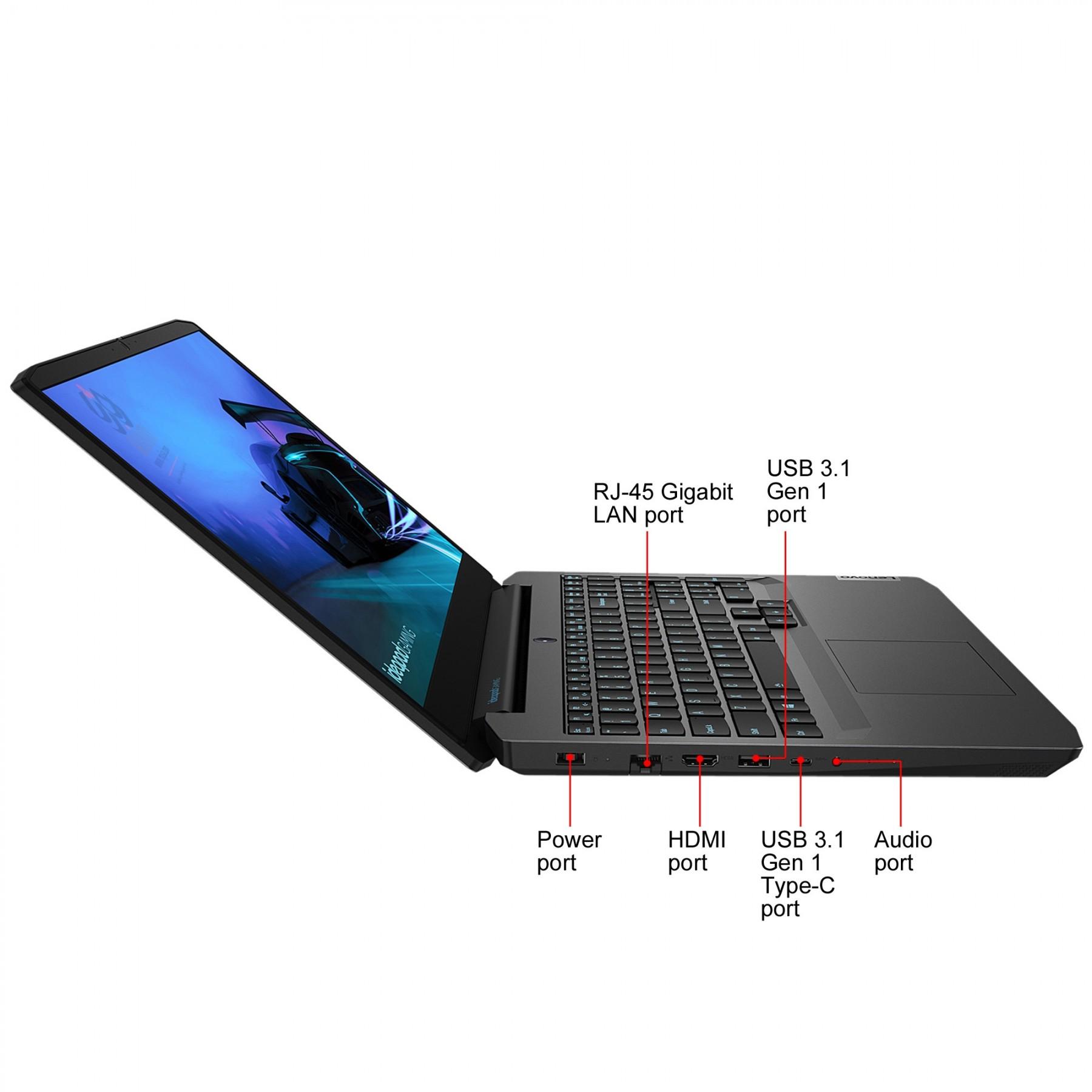 لپ تاپ لنوو Lenovo IP-GAMING3 i5-10300H-8G