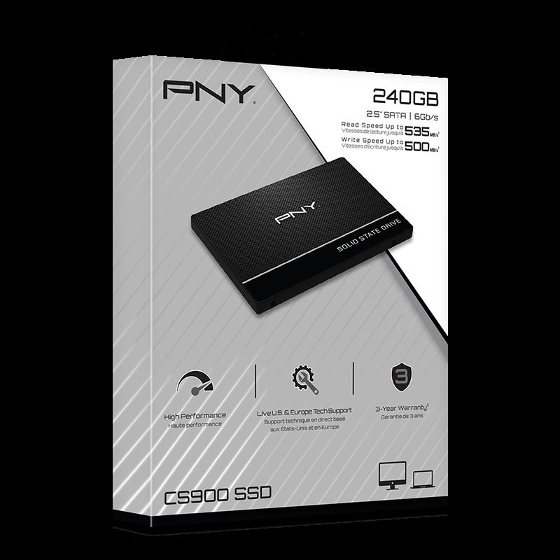 هارد پرسرعت پی-ان-وای PNY CS900 240GB