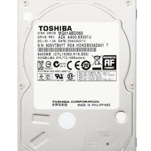 هارد لپ تاپ توشیبا TOSHIBA 500GB MQ01ABD050