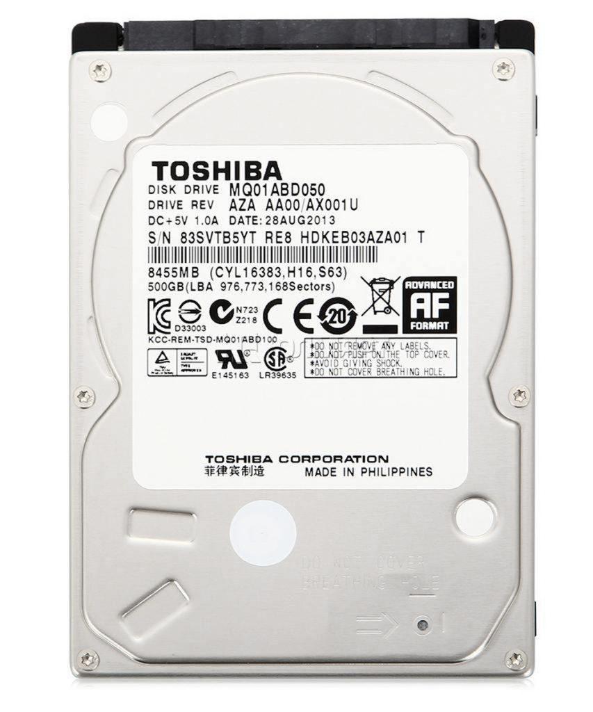 هارد لپ تاپ TOSHIBA 500GB MQ01ABD050